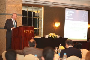 Addressing Judicial and Business Leaders, Cairo 2010