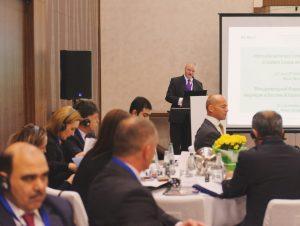Bill Marsh opens Minsk Forum 2016